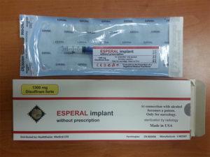 Дисульфирам Имплант: показания и побочные действия