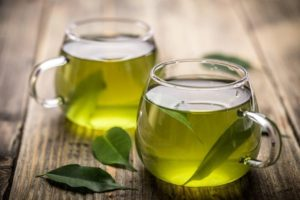 Употребление зеленого чая от похмелья