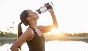 Употребление пива после тренировки